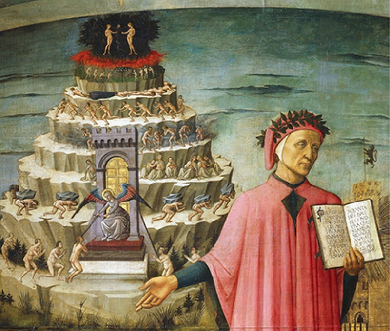 essays dante Dante and his mentor, virgil dante's inferno is the story of a middle-aged man's journey through the varying circles of hell where he encounters numerous people.